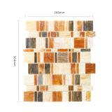 Baumaterial-deckt Quadrat farbige Küche-Wand Glasmosaik mit Ziegeln