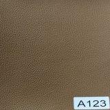O couro superior do PVC do plutônio da durabilidade da venda 2017 para a mobília calç bolsas