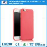 얇은 도매는 매우 TPU 다채로운 전화 상자 iPhone 6/7를 제거한다