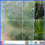 3-8mm freie und Bronzesäure geätztes gekopiertes bereiftes saures Glas mit Cer u. ISO9001