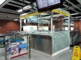 Bewegliche MetallEdelstahl-Kabine für Karte und Sicherheit