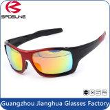 Les yeux UV400 polarisés par hommes de lunettes de soleil de modèle de marque de HD protègent des sports enduisant des glaces de Sun