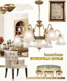 Iluminação de cristal do candelabro da lâmpada do diodo emissor de luz da sala de visitas para decorativo Home