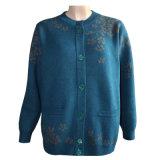 Gn 1621 여자의 야크와 모직에 의하여 혼합되는 뜨개질을 한 카디건 스웨터