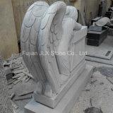 Monumento piangente intagliato americano del granito di disegno di angelo