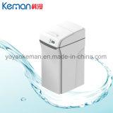 Système d'adoucissant de traitement des eaux de ménage avec la soupape de commande pour la douche