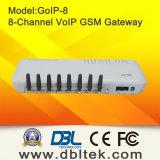 Входной VoIP GSM (GoIP) с 8 каналами GSM Квад-Полосы (8 карточек SIM)