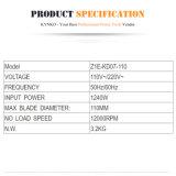 110mm/1240W de Marmeren (Regelbare) Snijder van de Hulpmiddelen van de Stroom