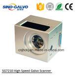 Laser 표하기를 위한 20W Sg7210 섬유 Laser 스캐닝 Galvo 가격