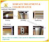 Multi-aluminio anodizado de color puerta corrediza de aluminio para salas de estar Interior