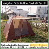 Tente de toit de camping européen Red Bull Star en fibre de verre