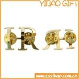 Regalo personalizado del recuerdo de la joyería de la insignia del botón de la galjanoplastia 3D (YB-HD-13)