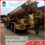 機械装置によって使用されるXCMGトラックによって取付けられるクレーン(QY50K-II)を高く上げる50ton