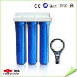 Épurateur de bureau de l'eau de maison d'acier inoxydable de 10 pouces