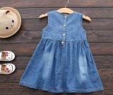أطفال يلبّي بنات فصل صيف ثوب نمو دنيم حاجة
