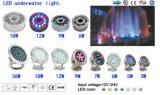 LED 수영장 빛 IP68 12W 수영풀을%s 수중 LED 선창 빛