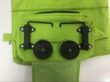 Unisex напольная сумка хозяйственной сумки с колесами