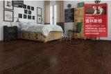 Negro Marrón Color Multiply Hickory Pisos de madera de ingeniería / Pisos de madera dura