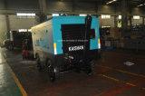 Compresseur d'air rotatoire à moteur diesel de remorque de Quatre-roues de Kaishan BKCY-12/10