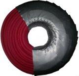 """1/4の""""空冷方式(黒いカラー)のための高圧ゴム製エア・ホース"""