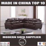Sofá caliente del cuero de los muebles de la sala de estar del sofá de la venta