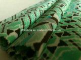 スポーツ・ウェア(HD1401112)のための緑の三角形の印刷ファブリック