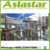 Água mineral do frasco 3L-18L automático que enxágua a maquinaria tampando de enchimento