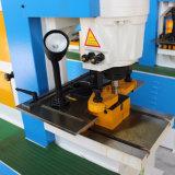 Q35y Máquina de corte de curvatura de corte por perfuração combinada hidráulica