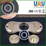 Rolamento de esferas cerâmico híbrido 606 do girador da mão da inquietação do diodo emissor de luz 608 686 688 R188