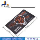 Tarjeta inteligente de la viruta RFID de Picopass usada para el carnet de socio