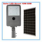 con LiFePO4 la luz de calle solar del regulador 15W LED de la batería MPPT
