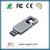 Hölzerner USBgreller Stick16GB USB-greller Fahrer kundenspezifischer USB-Schlüssel