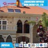 Wärme-Rohr-Sonnenkollektor der Aluminiumlegierung-58*1800