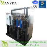 Refrigerante refrigerado a frio de propileno e glicol refrigerado a ar com tanque de refrigeração