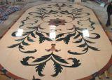 Het marmeren Medaillon van het Mozaïek van Pettern van de Straal van het Water voor de Tegel van de Bevloering van de Decoratie van het Huis/van het Hotel