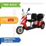 500With700W goedkope Volwassene 3 de Elektrische Gehandicapte Autoped Trike, de Elektrische Driewieler van het Wiel van het Pedaal (tc-020B)