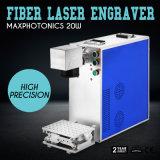 Laser die van de Vezel van de hoge snelheid 20W de Draagbare Machine voor Metaal en Non-Metal merkt
