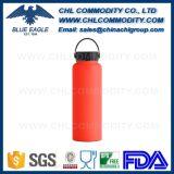 BPA освобождают бутылку содержания горячую и холодную нержавеющей стали с крышкой ручки