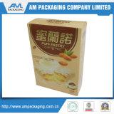 Embalagem de alimentos para papel Caixa pequena dobrável para biscoitos de padaria de abacaxi