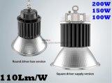 A iluminação do armazém do diodo emissor de luz do preço de fábrica substitui o diodo emissor de luz elevado industrial impermeável ESCONDIDO 800W 200W do louro IP65