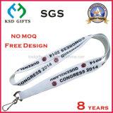 Cuello de seda modificado para requisitos particulares de la impresión de la insignia tejido/poliester/acollador impreso para el regalo de la promoción