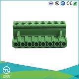 새로운 Utl Ma2.5h5.0 Pluggable PCB 단말기 5.0mm 피치 2.5mm2 철사 크기