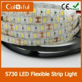 Luz de tira elevada do diodo emissor de luz do lúmen DC12V SMD5730 do projeto profissional