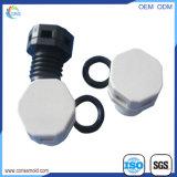 기계로 가공 부속 LED 램프 IP68 플라스틱 방수 벨브