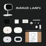 Jnf-01 China Supplier Desktop Iluminado Cosméticos Maquiagem Vanity Mirror com luz LED