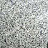 G603壁のクラッディングまたはフロアーリングのためのBiancoの白いですか灰色の花こう岩のタイル