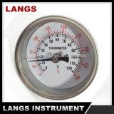 059 63mmの工場高品質のバイメタルの管の温度計