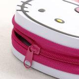 Hallo Miezekatze-Reißverschluss-Zinn-Kasten für Verpackungs-Süßigkeit