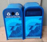 Balde do lixo resistente do parque de diversões e do parque temático (HW-64)