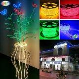 Luzes de tira impermeáveis claras decorativas do diodo emissor de luz da economia de energia